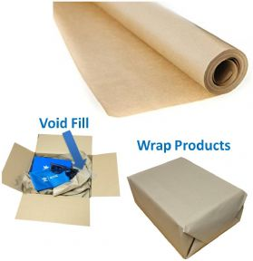 Kraft Paper Rolls / Void Fill x 5 Metre Roll